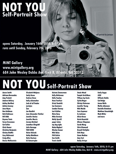 Not You - Self Portrait Show