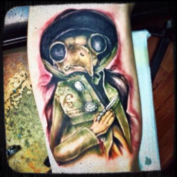 The first Strange Dolls tattoo