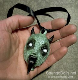 Ghoulish Christmas Ornaments